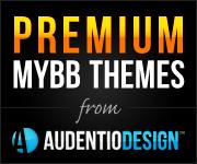 Premium MyBB Themes from Audentio Design